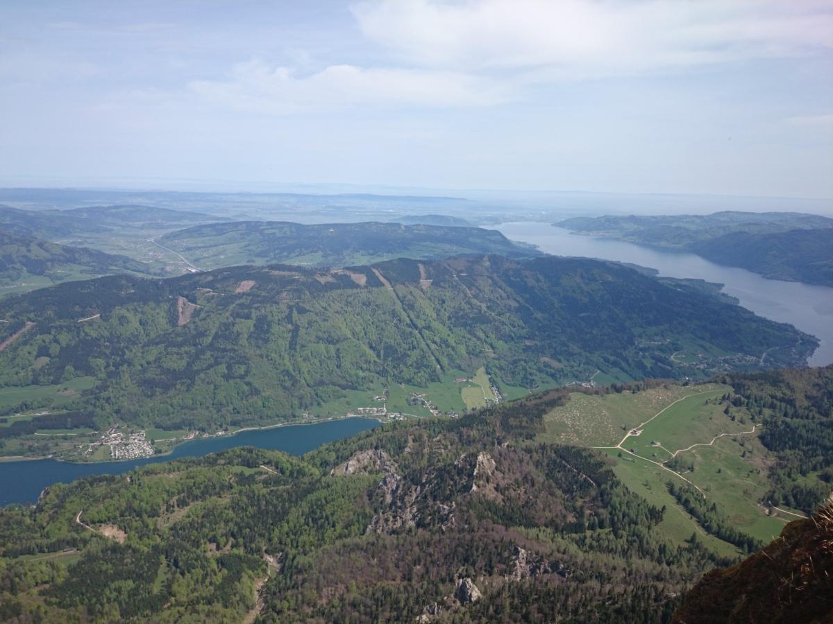 シャーフベルク登山鉄道 アッター湖