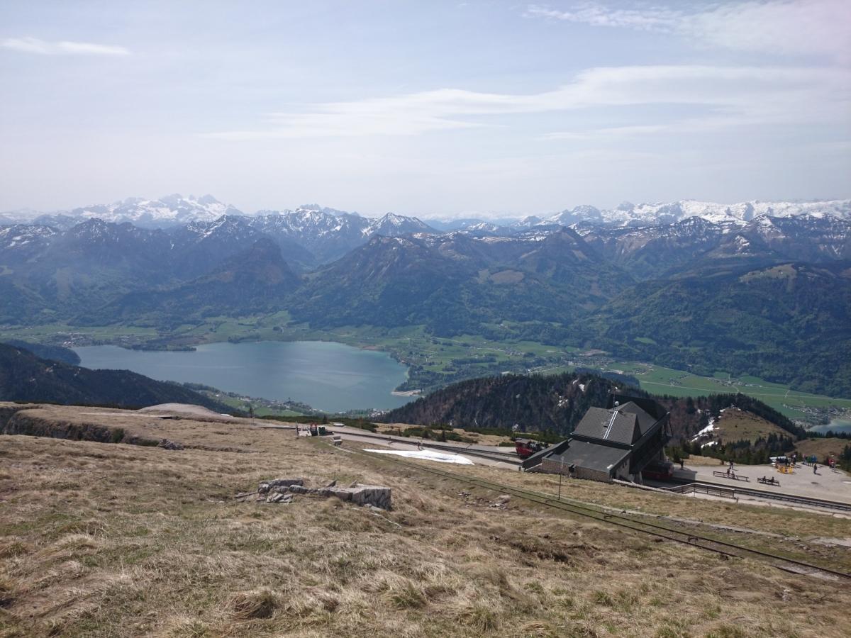 シャーフベルク登山鉄道 ヴォルフガング湖