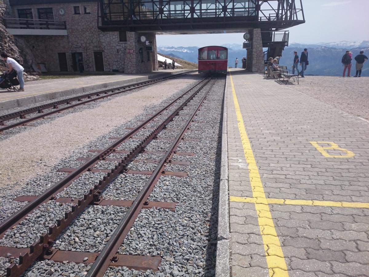 シャーフベルク登山鉄道 アプト式