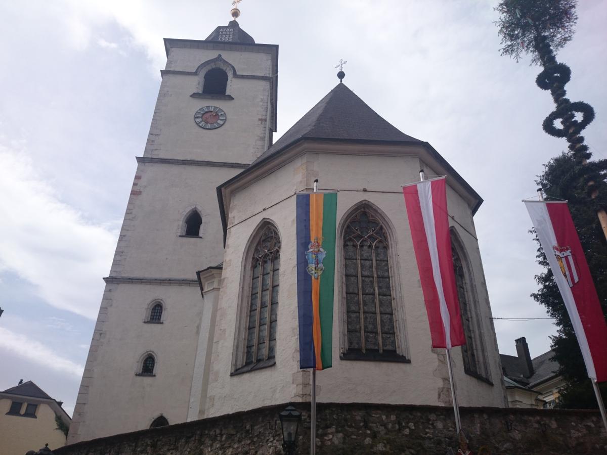 ザンクト・ヴォルフガング 教区教会